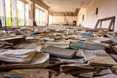 Чернобыльская зона, город-призрак Припять