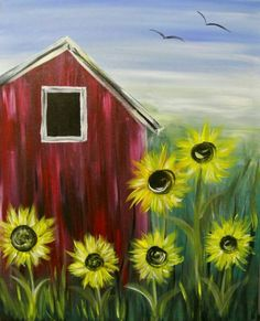 Winey Art combines art instruction and wine drinking. We provide everything needed to create your own paining: the aprons, easels, paint, brushes and canvas. Summer Painting, Easy Canvas Painting, Simple Acrylic Paintings, Autumn Painting, Diy Painting, Canvas Art, Canvas Ideas, Fall Canvas, Painting Wallpaper