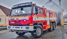 Fekální vůz předělali dobrovolní hasiči za pět let na zásahovou cisternu