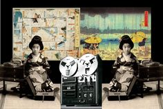 """ JAPANESE VYNIL GIRL "" mao nanri"