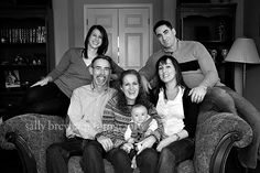 Indoor Extended Family Photo Session ~ Sally Brewer Photography