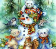 Snowman (399 pieces)
