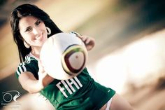 REAL MADRID GIRLS™: Palmeiras Muse - Luciana Queiroz.Best of her! see more at : http://realinia.blogspot.gr/2015/03/chicas-argentinaselfie-shot-private.html #playboy #hotties #actress