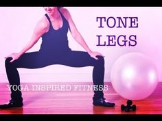 20 min YOGA INSPIRED FITNESS FOR LEAN LEGS & CALVES