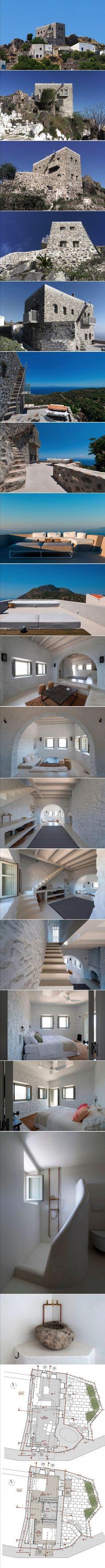 Sterna Nisyros Residence by i.landarchitects & Dolihos architects