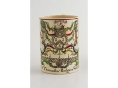 large creamware Masonic mug, printed and painted with an - Miller's Antiques & Collectables Price Guide