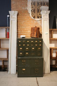 Directoire File Cabinet   Really Unique File Storage For Your Home Office |  Home Decor Inspiration | Pinterest | Filing, Storage And Organizing