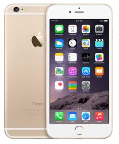 iPhone 6 Plus Gold - I love mine so much, the old iPhones seem so small now.