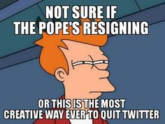 Pope's Exit Causes