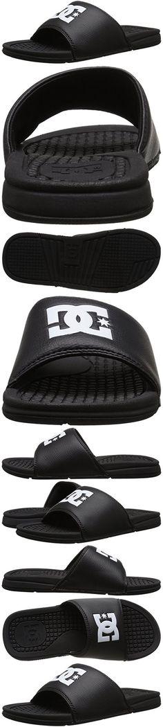 huge selection of a3fab 780a7 DC Mens Bolsa Slide Sandal, Black, 14 M US
