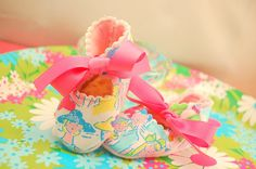 Lilly Pulitzer Preppy Fabric Baby Shoes Crib by Little Ones, Little Girls, Baby Registry Checklist, Crib Shoes, Baby Steps, Having A Baby, Baby Cribs, Baby Booties, Baby Fever