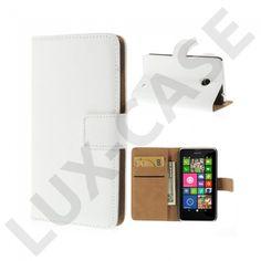 Washington (Hvit) Nokia Lumia 630/635 Ektelær Flipetui