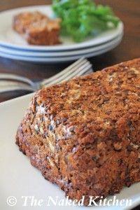 Italian Style Lentil Loaf ~gluten free/vegan (most like traditional meatloaf of the lentil loaves I've seen)
