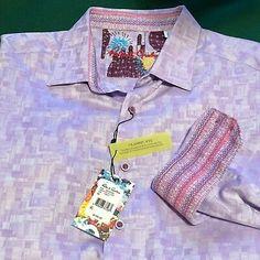 Here is the sought after Robert Graham flip cuff and collar shirt! Shirt Cuff, Robert Graham, Sports Shirts, Collar Shirts, Workout Shirts, Paisley, Long Sleeve Shirts, Man Clothes, Abstract