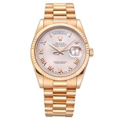 Rolex Day-Date President Automatic Rose Gold (118235)