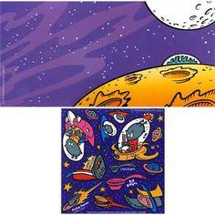 Space Alien Sticker Activity