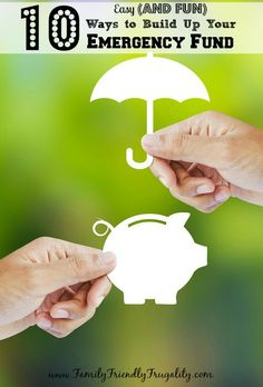 Who said saving money and building up an emergency fund had to be difficult? It can even be a little bit of fun if you put some thought into it. There are tons of effective and creative ways to build your emergency fund.