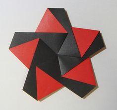 kamon ori from a pentagon sheet (pdf diagram on site)
