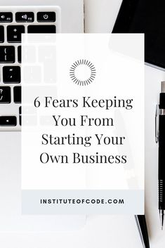 Starting your own business can seem like a daunting and risky aspiration. It's completely normal to have tremendous doubts about investing time, money and energy into launching your own business. Entrepreneur Motivation, Entrepreneur Quotes, Business Entrepreneur, Creative Business, Business Tips, Online Business, Creating A Business, Starting Your Own Business, Web Development Tools