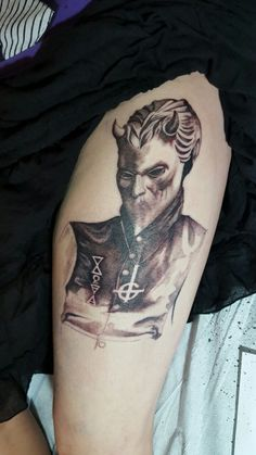 Nameless Ghoul Tattoo