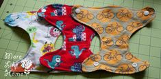 More Like Home: Baby Doll Diapers {pattern & tutorial}