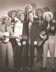 CBS RADIO - On the Air with Rex Allen & The Sons of the Pioneers