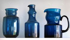 12 parts of the Blue Series - Bertil Vallien, Boda-Åfors 1960s. | Collectors Weekly