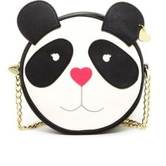 Betsey Johnson - Panda canteen crossbody