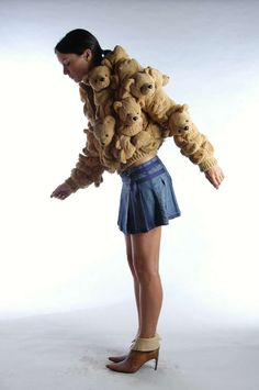 Terrific Teddy Coats : Bear Fur
