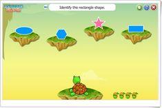 """""""Explorando las formas geométricas"""" (Juego de Matemáticas de Primaria) Rectangle Shape, Shapes, Math, Fictional Characters, Ideas, Geometric Fashion, Maths Area, Math Games, Teaching Resources"""