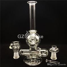 Popular Glass Bongs in Stock Straight Mouthpiece Glass Water Pipe Bubber with Two Function Accessories Ash Catcher in Stock Online with $21.99/Piece on Gzsmoke's Store | DHgate.com