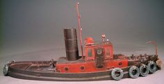Frenchman River Model Works O/On30 45' Steam Harbor Tugboat