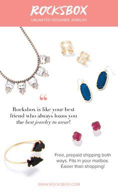 Get unlimited designer jewelry for just 21month Rocksbox 3