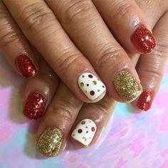 Amazing fashion nails: ❄️����❄️������ by atlas_nail (http://ift.tt/1YjbJue)