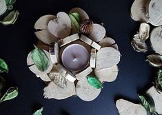D.Plata / Svietnik ,,Natural Natural, Floral, Flowers, Jewelry, Jewlery, Jewerly, Schmuck, Jewels, Jewelery