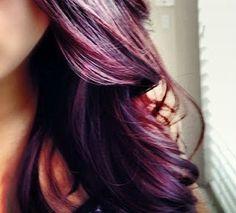 Love the Hair Color Burgundy + Plum hair hair Love Hair, Great Hair, Gorgeous Hair, Beautiful, Amazing Hair, Absolutely Gorgeous, Burgundy Hair, Purple Hair, Brown Hair