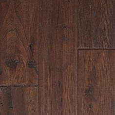 "Mohawk Zanzibar 5"" Engineered Elm Walnut Hardwood Flooring in Antique Walnut & Reviews   Wayfair"