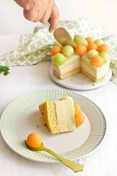 Tarta de mousse de melones 2