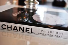 #chanel #book #table #decor #home #office #room #living #black #white