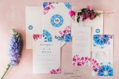 Greek themed wedding with beautiful pastel colours, colors, hanging arrangements, delphiniums, orchids, hydrangeas, roses, bougainvillea, suspended florals, Zavion Kotze Delphiniums, Hydrangeas, Greek Wedding, Our Wedding, Wedding Stationery, Wedding Planner, Pastel Colours, Colors, Event Company