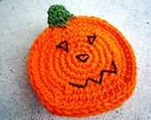 Pumpkin Coasters (4 pc) - Autumn