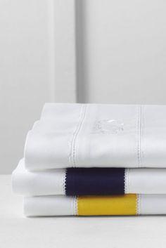 Egyptian Cotton Border Sheet Set  or Pillowcase from Lands' End