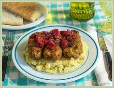 Vegan Tempeh and Barley-Stuffed Cabbage Rolls Cabbage Rolls, Cooking Recipes, Cooking Food, Tempeh, No Cook Meals, Vegan Vegetarian, Delish, Healthy Eating, Meat