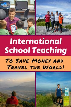 With a teaching job at an international school abroad, it's possible to save enough money to take time off and travel! Read how in this inspiring and useful interview. Work Overseas, Moving Overseas, International Teaching Jobs, Teaching Overseas, Work Abroad, Teaching English, Travel With Kids, Travel Articles, Travel Tips