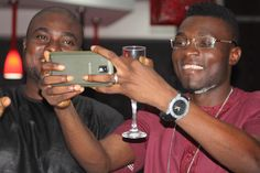'It's selfie time' as the TALKE Tv crew departs Latitude Lounge