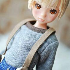 ついに新しい男子服を買って貰ったトム。もう姫川亜弓扮するトムにしか見えない←チークがまだらだからw