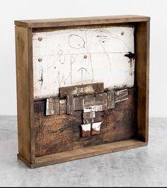 3d Collage, Collage Art Mixed Media, Mixed Media Artists, Assemblage Art, Handmade Books, Crafty Craft, Gravure, Box Art, Shadow Box