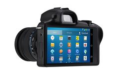 Samsung Galaxy NX: the world's first Android-powered interchangeable lens camera