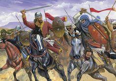 The Battle of Cervera, near Espinosa de Cervera on 29 July 1000 between the Christian troops of counts Sancho García of Castile and García Gómez of Saldaña and the Muslim Caliphate of Córdoba under the hajib Almanzor