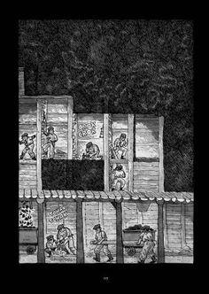 Alfonso Zapico rescata los acontecimientos que derivaron en la Revolución de 1934 en Asturias en 'La balada del norte', una ambiciosa novela gráfica de 500 páginas